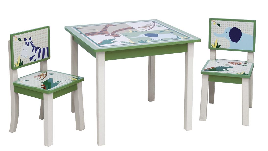 שונות שולחן וכסאות עץ לילדים DI-86